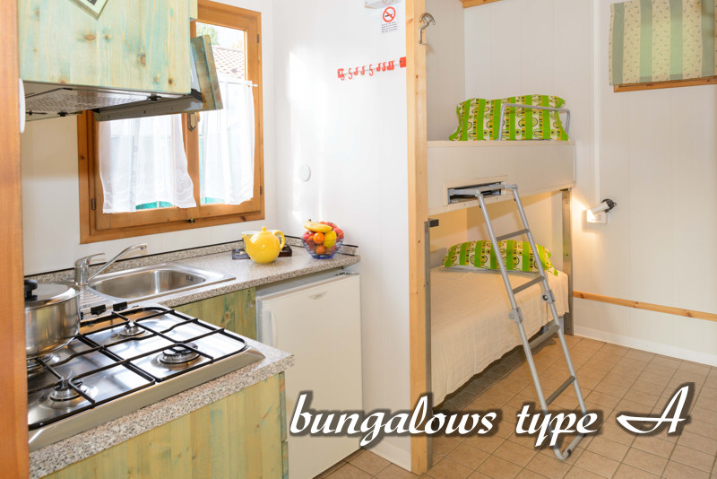 bungalows type a - domaso comer see